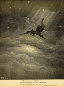 Scan from Milton's `Paradise Lost' / Illistrated by Gustave Doré.  London: Cressell, Petter, and Galpin, Ludgate Hill, EC., 1866