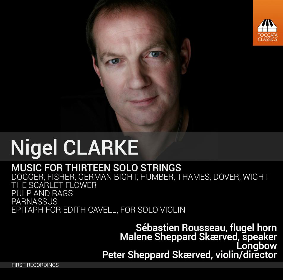 TOCC 0325 Nigel Clarke Music for 13 strings